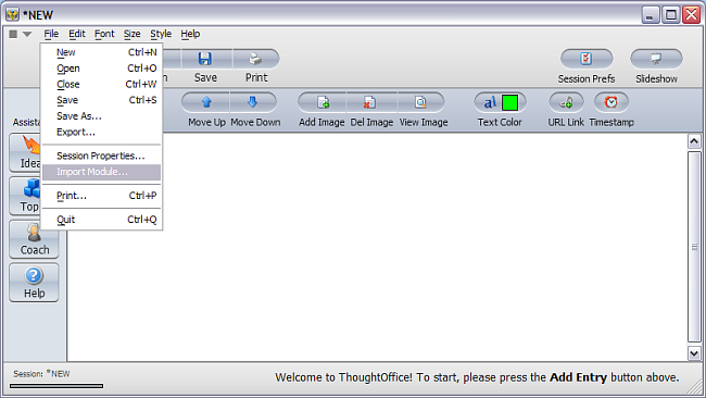 Install ThoughtOffice Topic Modules - Step 3