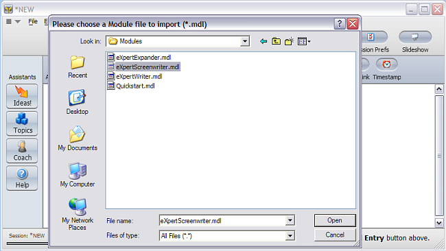 Install ThoughtOffice Topic Modules - Step 4