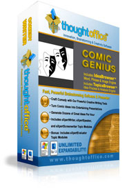 ThoughtOffice Comic Genius Software