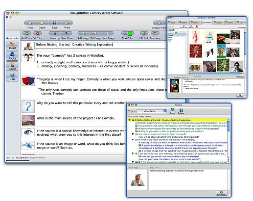 Comedy Writers & Comics Creativity Software