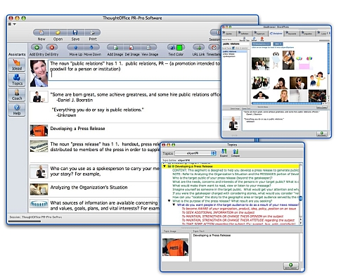ThoughtOffice PR Professional Software