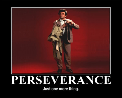 Perseverance - Just One More Thing