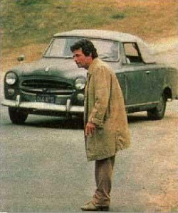 Peter Falk as Detective Columbo