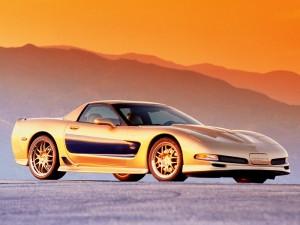 2003 Guldstrand 50th Anniversary Corvette Z06