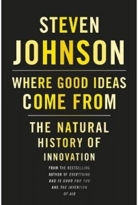 Steven Johnson book - Where Good Ideas Come From